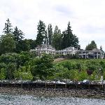 View of the Inn from the foot ferry
