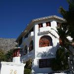 Floreal House Hotel - in midwinter!