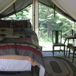 Bilde fra Huckleberry Tent and Breakfast North Idaho