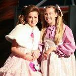 Violet and Veruca in Willy Wonka