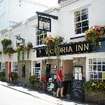  The Victoria Inn frontage in the Summer