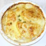 Garlic Dauphinois Potatoes