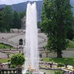 foutain at Linderhof palace