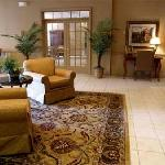 Relax in our inviting lobby at the Inn on Broadway
