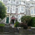 front view of Rosaland Hotel, Plymouth