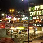Main Shopping Centre at Night