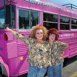 Join the Jugg Sisters on the Big Pink Bus!