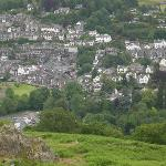 Ambleside taken from Loughrigg (07/07/10)