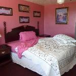  our nice pink room