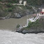  Mandakini and alaknanda confluence at Rudraprayag
