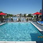 Relax at our Pool on the Canal