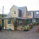  Rear Entrance to Bridgend Cottage
