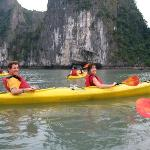 tour i enjoy in halong bay once time