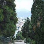 A view over Split from Maro park