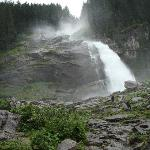  view of Krimmel waterfalls