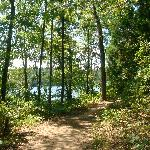  trail around the lake