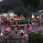 Gatlinburg Trolley July 4th 2010