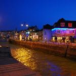 Night time at port en Bessin