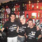Ivo, Christina & Stan - best bar staff!!