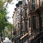 Brownstone side streets of Bedstuy