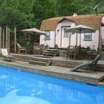 Dolphin Swimming Pool And Cottage