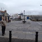 square near Stromness wharf