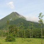 Arenal Volcano from hotel room