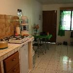  Self-catered clean kitchen area