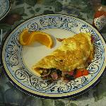 A really good chef prepared omlet