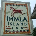  Impala Island Inn sign on 10th &amp; Ocean