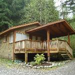 Foto de Evergreen Forest Cabins