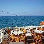  Wonderful to eat or drink on the terrace by the sea