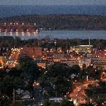 Downtown Marquette and the Ore dock