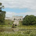  View of Powerscourt from pond