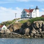 Nubble Light as seen from boat