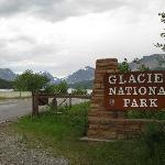 Entrance to Many Glacier section of the Park