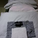  Yukata and a small towel are provided