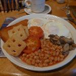 The vegetarian English Breakfast