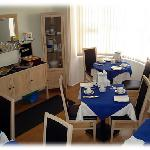  The Dining Room at Philbeach Guest House