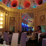 Nice Interiors..you can see opera singer