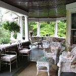 Beautiful outdoor porch