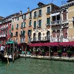 The Hotel Marconi from the Grand Canal