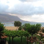 View from Studio at Gramvoussa Bay Hotel