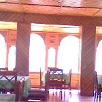 dinning room of hotel kinner kailash