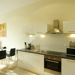 Self contained units with kitchens, aircon, wifi and Sat TV included
