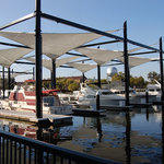 Downtown Stockton Marina and Joan Darrah Promenade