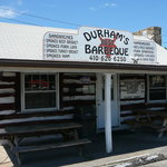 Exterior of Durham's Best BBQ