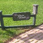 sign in front of b&b