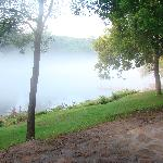 fog on the river--gorgeous!