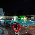 Pool at night!